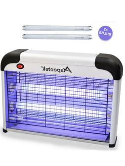 Aspectek Electronic Indoor Insect Killer Zapper US Lamp 20W