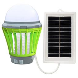 Electronic Insect Killer UV Solar LED Electric Fly Insect Bu