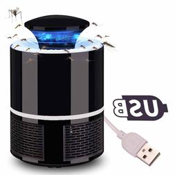 Electronic Mosquito Killer Lamp USB LED Light Indoor Fly Bug