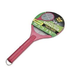 Black Flag Hand Held Bug Zapper Electric Fly Racket Mosquito