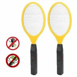Hand Held Bug Zapper Insect Zapper Electric Fly Swatter Rack
