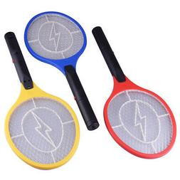 Handheld Electric Fly Swatter Bug Zapper Mosquito Killer Rac