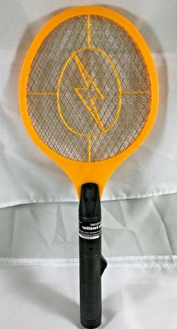 Handheld Bug Zapper Tennis Racket Electronic Fly Swatter Bla