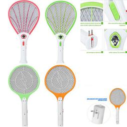 High Voltage Electric Fly Mosquito Swatter Bug Zapper Racket