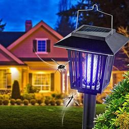 New & Improved Solar Powered Zapper- Enhanced Outdoor Flying