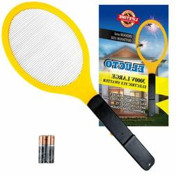 Indoor Outdoor Pest Control Electric Bug Zapper Fly Swatter