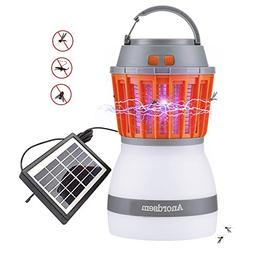 Anordsem Insect Zapper LED Camping Light Rechargeable Tent L