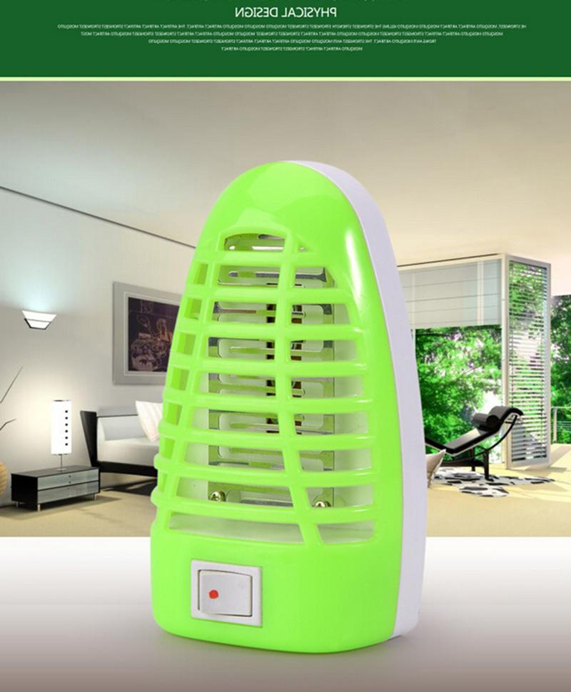 110V~220V Electronic Mosquito Killer LED Random Lamp Moth Mosquito Repellent Insect US Plug