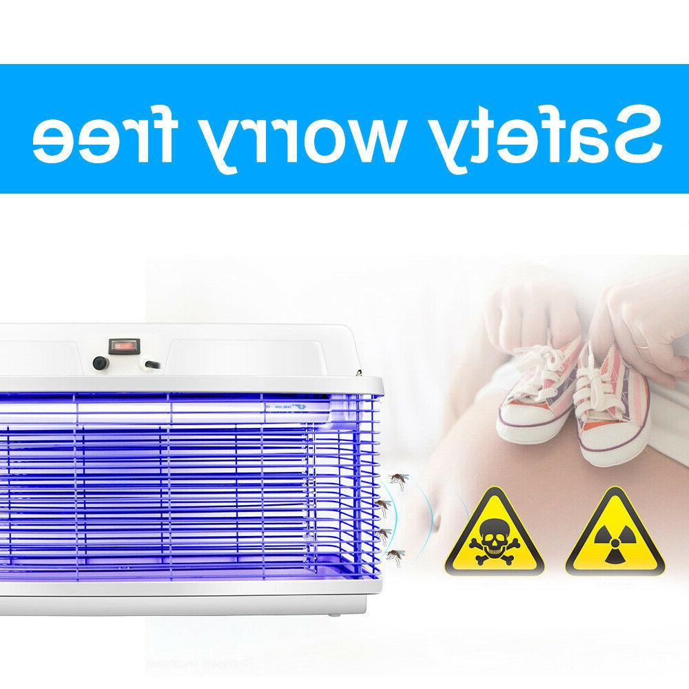 20W Electric Outdoor Mosquito Bug Pest Catcher