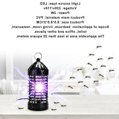 Electric Mosquito Lamp Bug Insect Zapper EU/US