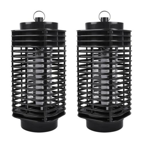 2pack electric uv mosquito killer lamp outdoor