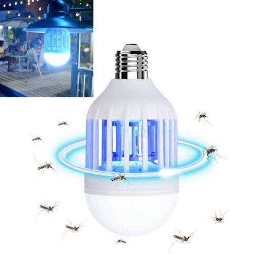 2Pcs Bug Bulb Mosquito Lamp Fly Trap