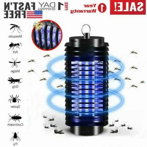 2pcs electric mosquito fly bug insect zapper