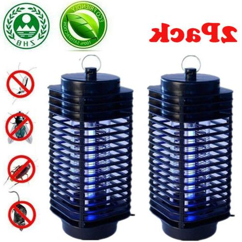 2x electric mosquito fly bug insect zapper