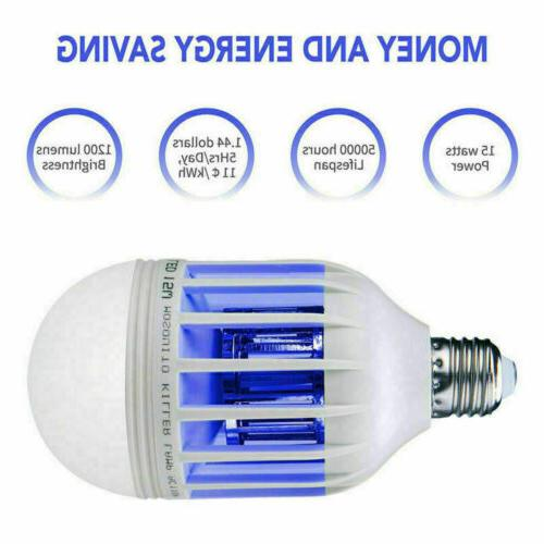 4pcs Light Zapper Light Bulb Bug Fly Insect Lamp