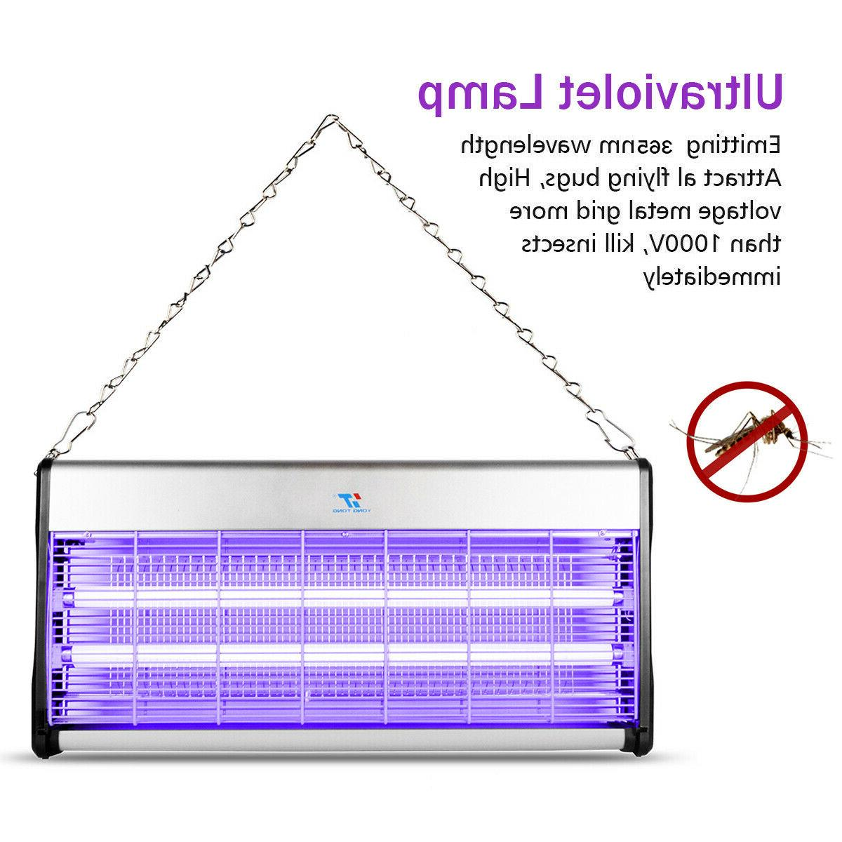 40W Electric UV Zapper Flying Insect