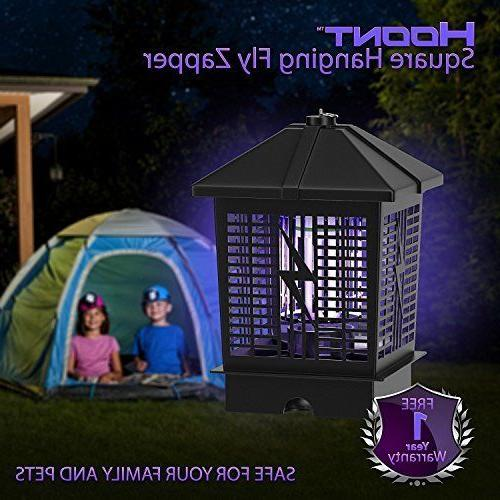 Hoont Powerful Electric Outdoor Bug Zapper with UV Light Trap 1- 1/2