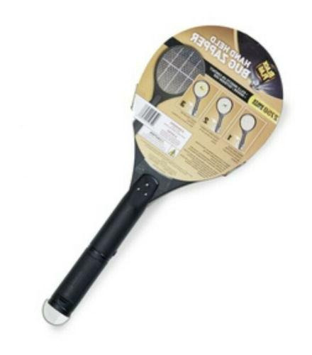 BLACK FLAG Battery-Powered Bug Zapper Racket 2750 Volts Indo