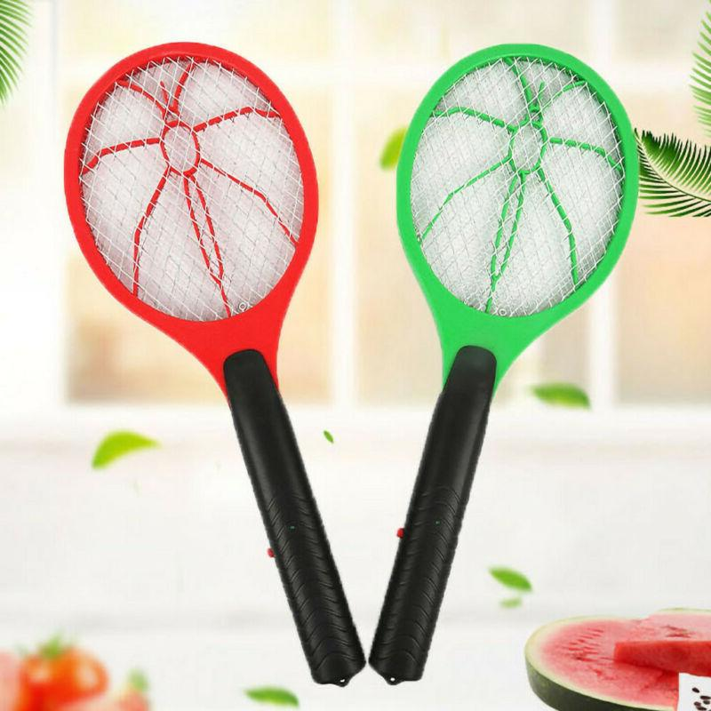 Rechargeable Electric Racket Mosquito Swatter Bug Pest Insec