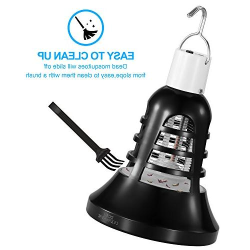 Vexverm Zapper Bulb, Mosquito Insect Killer, Insect Trap, Powered Bulb Home Indoor Patio Backyard