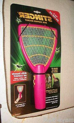 STINGER, BUG ZAPPER RACKET   ON  CONTACT / NEW/