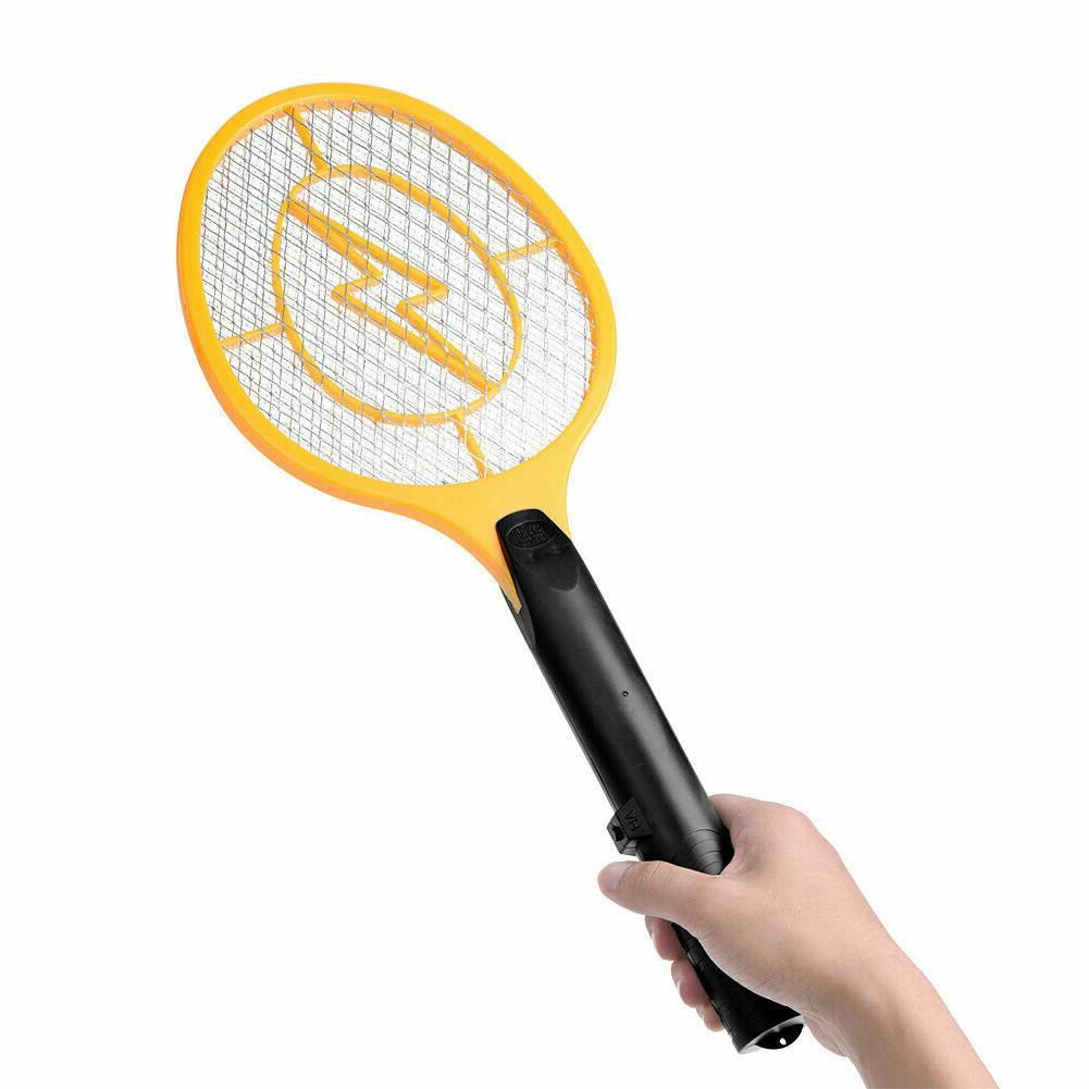 cordless battery powered electric fly mosquito swatter