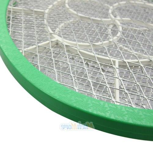Cordless Rechargeable Bug Mosquito Electric Swatter Racket
