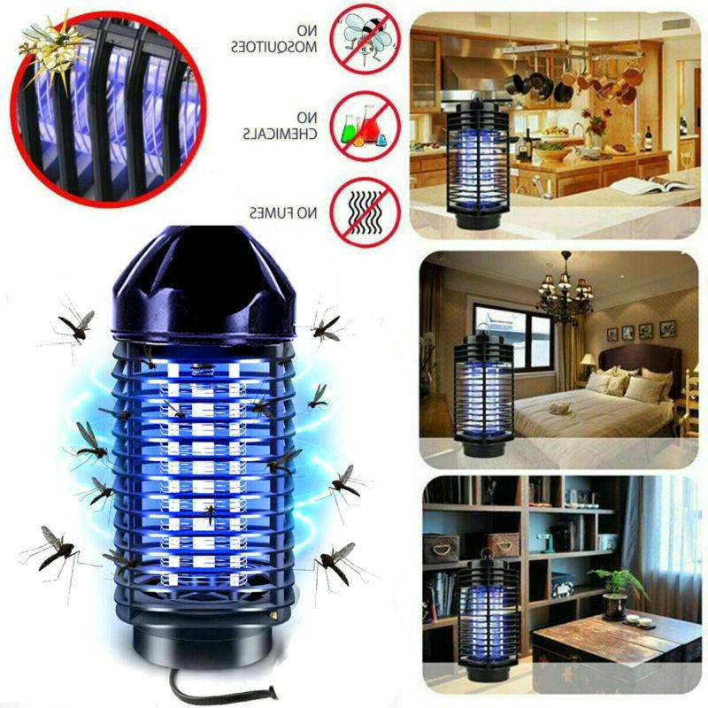 Electric Zapper Fly Mosquito Home Insect EU/US F6