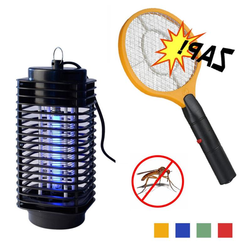 Electric Fly Insect Killer Racket Zapper Swatter Bug Mosquit