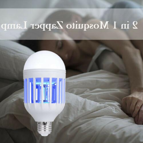 LED Electric Mosquito Killer Lamp Fly Bug Insect Trap Zapper