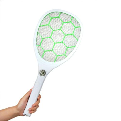 electric mosquito bug zapper racket fly swatter