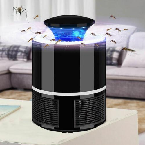 Electric Mosquito Fly Insect Trap Lamp Control Light