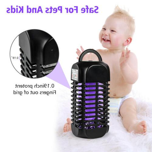 Electric USB Fly Zapper Mosquito Bug Pest LED Control US