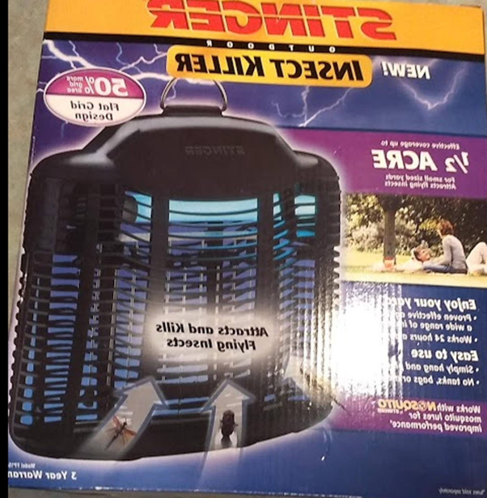electronic outdoor insect killer bug zapper 1