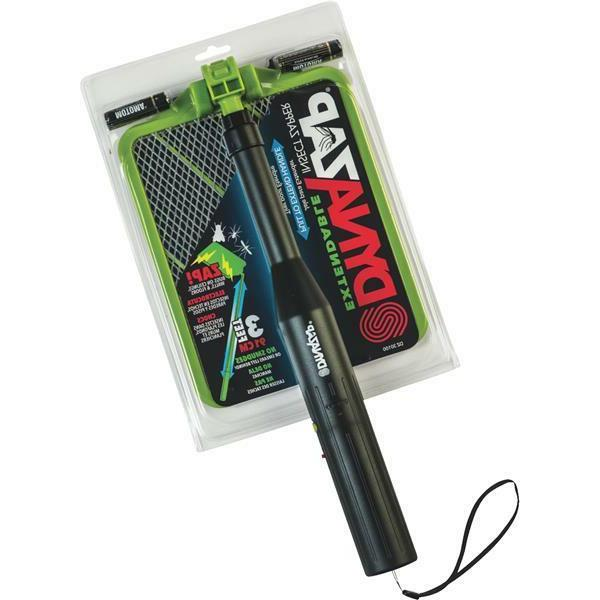 Hand Insect Extendable Zapper Dynazap Bug Mosquito Fly Swatt