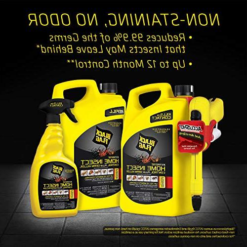 Black Flag Home Insect Control Germ Killer AccuShot Spray, 1.33