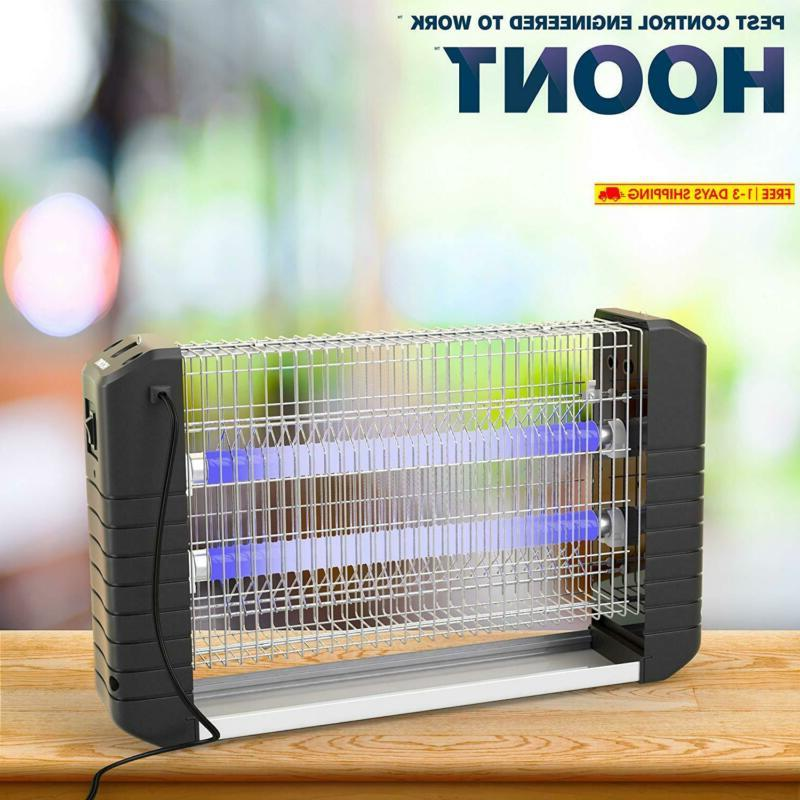 Hoont Powerful Electric Bug Fly Zapper/Catch, Kill Co