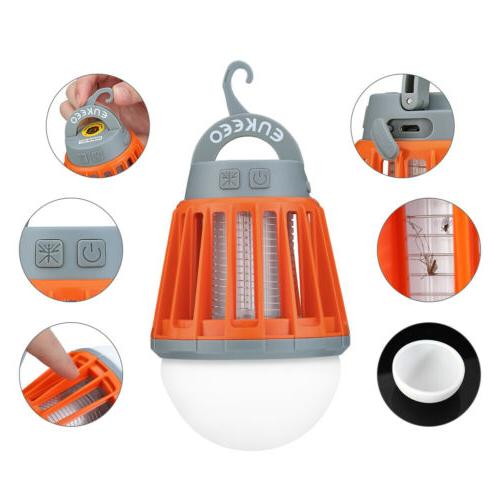 Portable Camping Lantern Bug Mosquito Zapper Lights