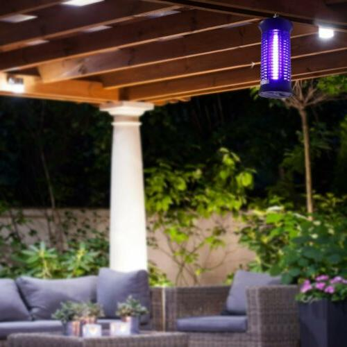 Large Bug Zapper Fly Killer Lamp W/ UV Light