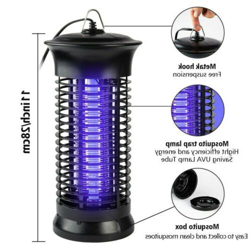 Mosquito Fly Zapper Killer Room Electronic Lamp