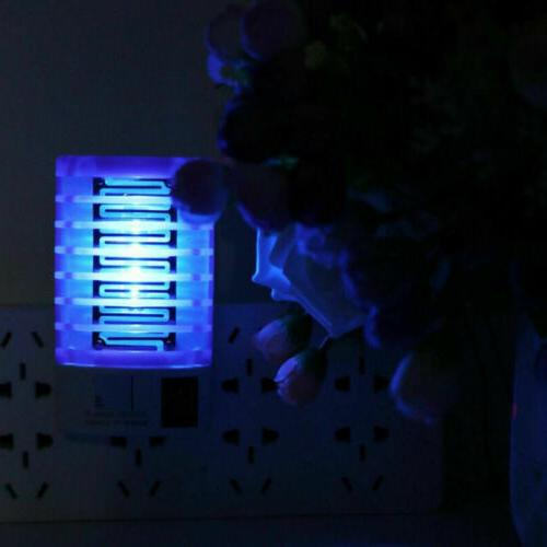 LED Mosquito Lamp Fly Bug Trap Lights Zapper new