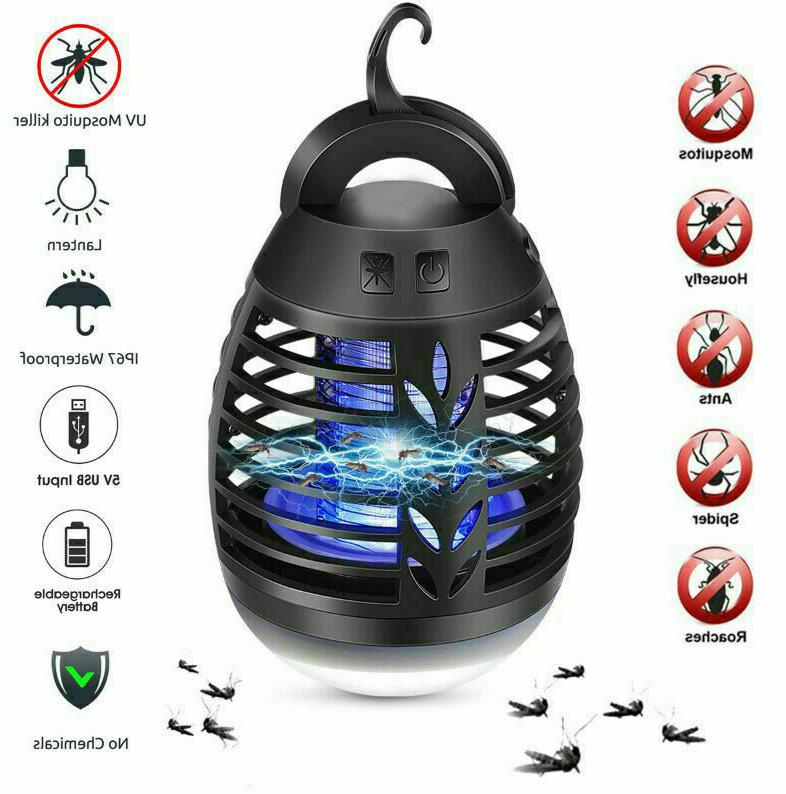 led electric mosquito zapper killer lamp insect