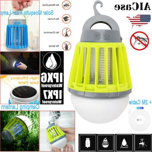 led electric solar mosquito killer fly bug