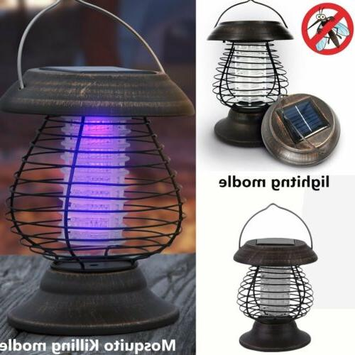 Led Zapper Mosquito Lamp UV Lantern Light
