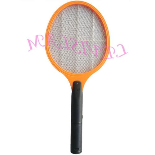 mosquito bug fly zapper racket swatter trap
