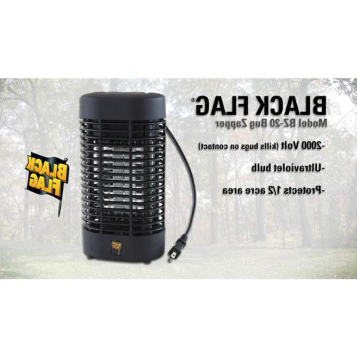 Mosquito Zapper Killer 2000-Volt 1/2 Kills Pests Yard/Patio