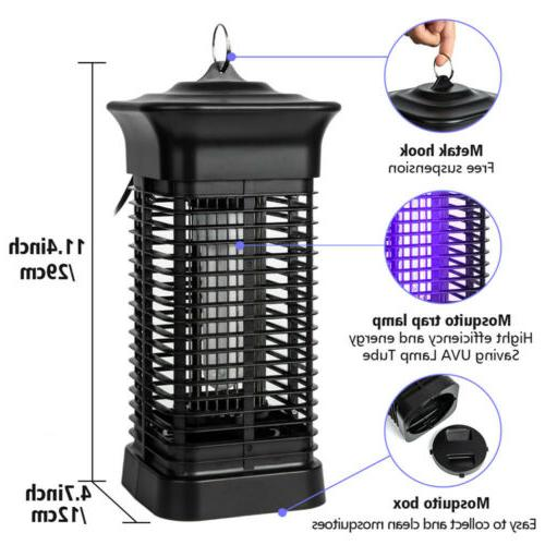 Mosquito Fly Bug Insect Zapper Killer Electronic Trap