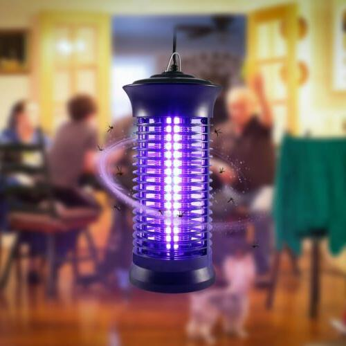 large electric insect bug zapper fly