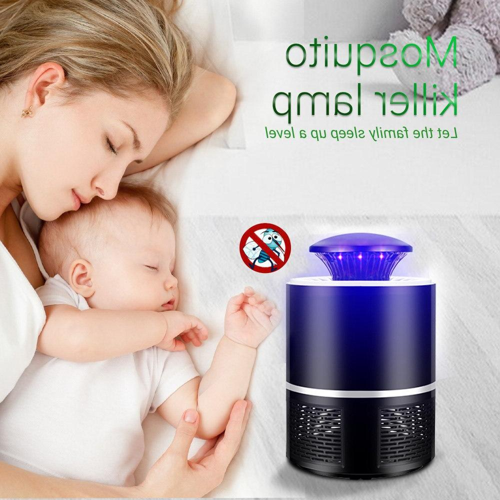 CHIZAO electric mosquito killer Photocatalysis mute LED <font><b>bug</b></font> <font><b>zapper</b></font> Radiationless