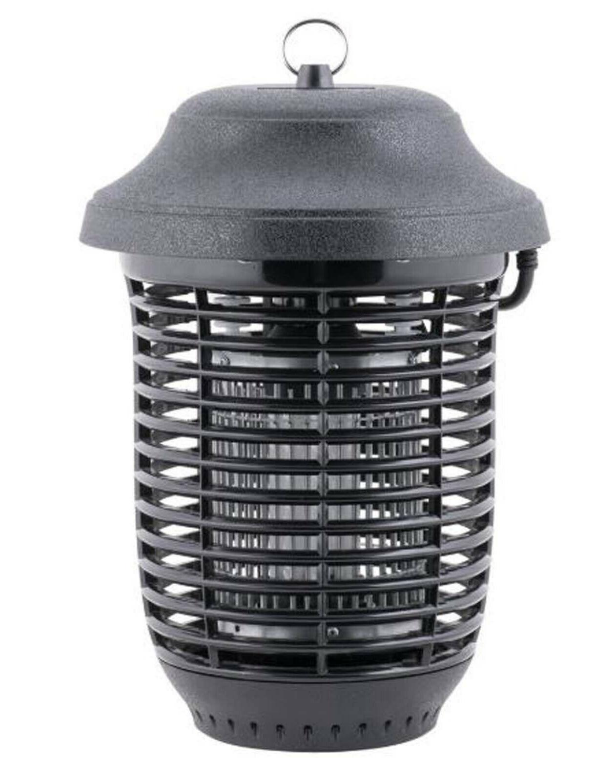 Outdoor Black Plastic Flying Insect Trap Bug Coverage Garage